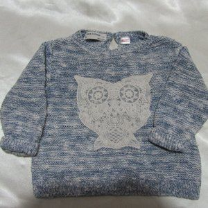 Baby girl pullover sweater Size 12- 8 Month Zara
